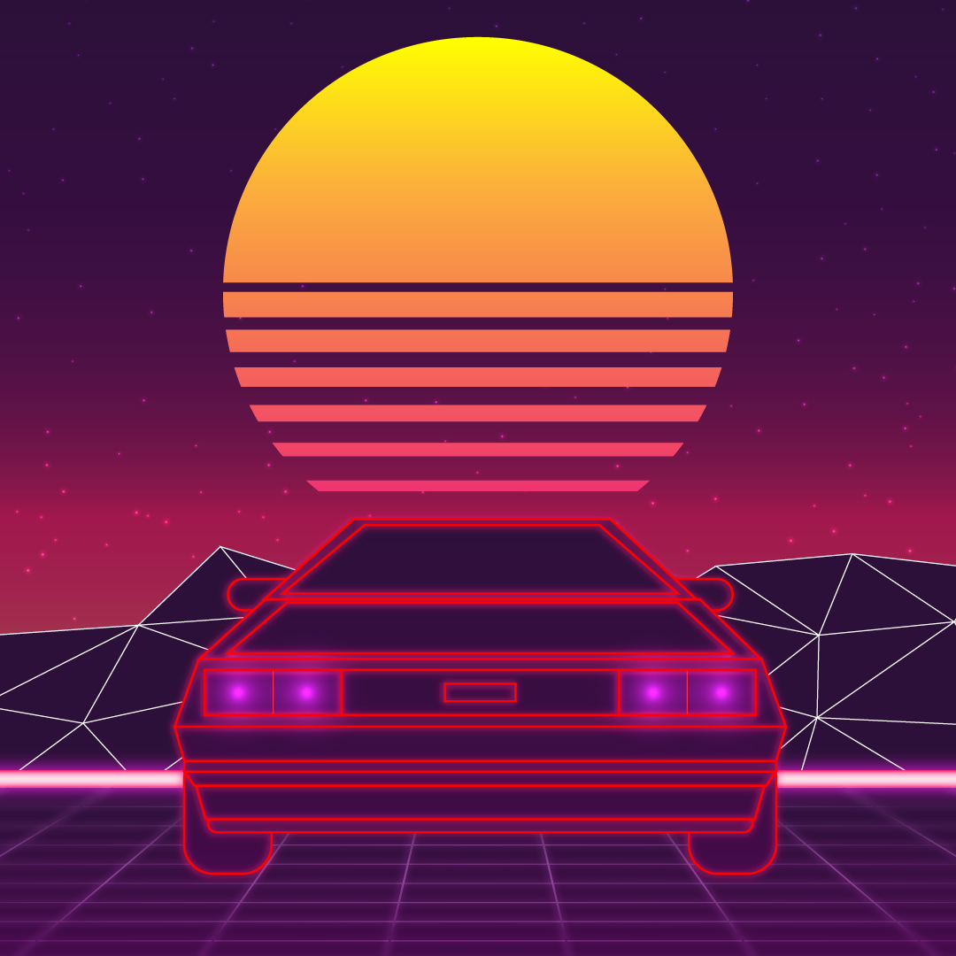 How to create neon lights in Illustrator