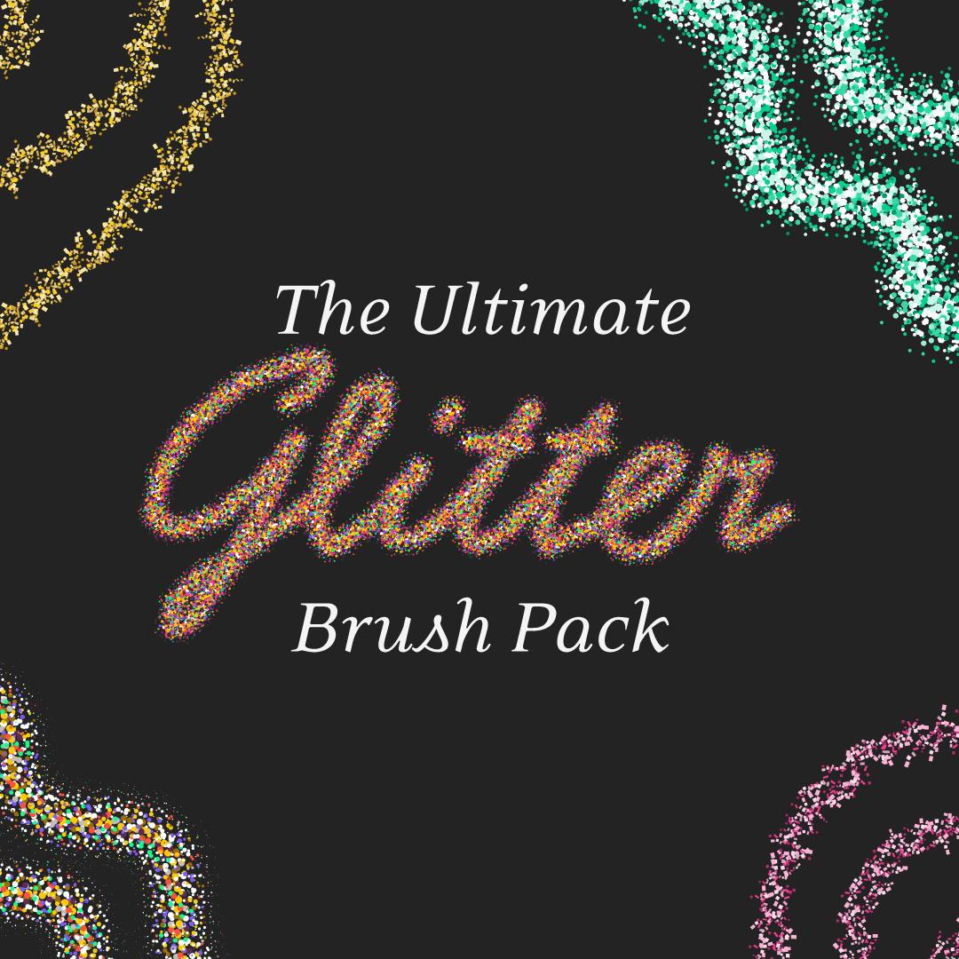 Special offer: Glitter brush pack