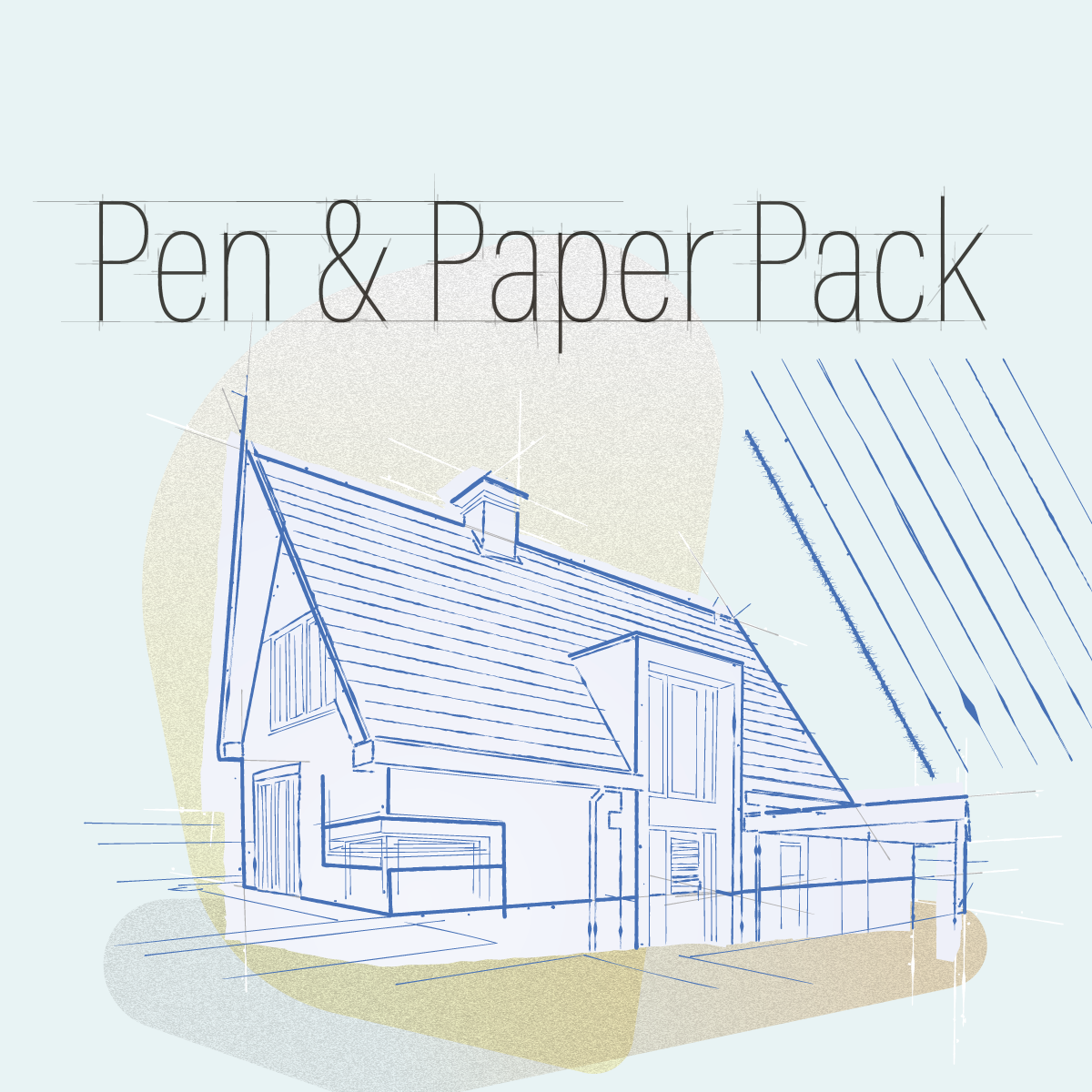 Special offer: Pen and paper styles creativity pack