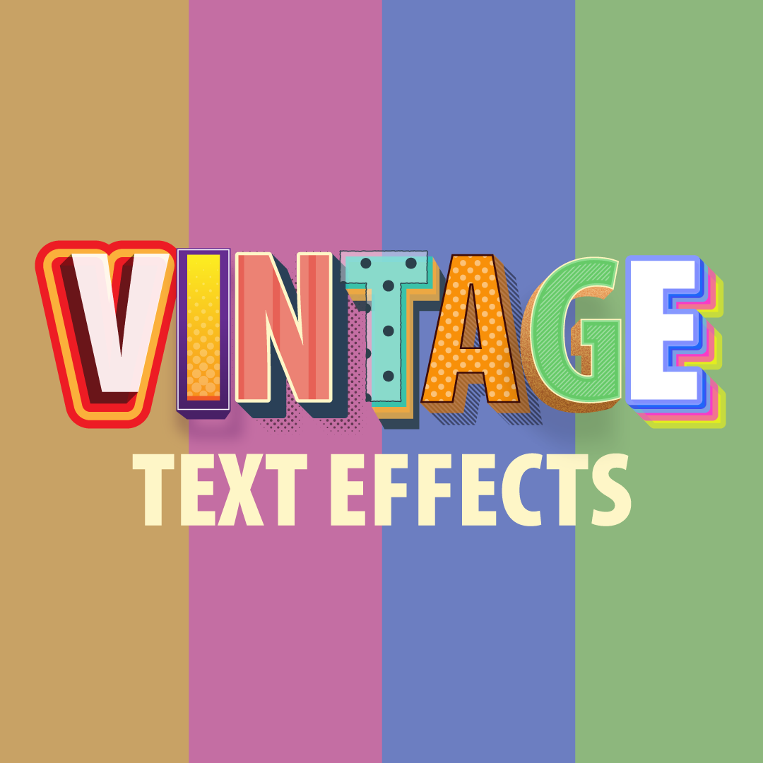 Special offer: Vintage styles pack