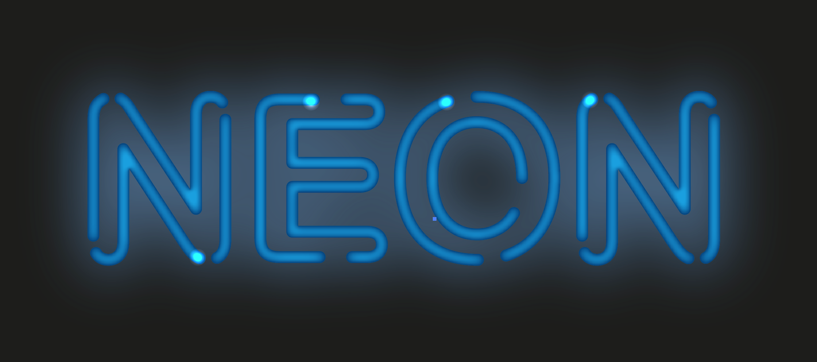 Create Neon Text Effect With Stylism And Adobe Illustrator Astute Graphics
