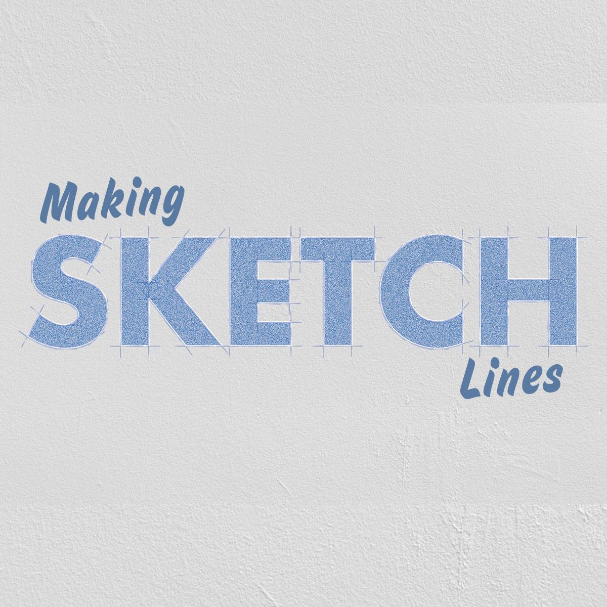 10 Min Skills - Making sketch lines